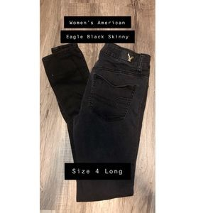 Women's American Eagle Black Skinny Jean